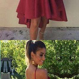Fashion Stain Knee Length Homecoming Dress Short Prom Dress,Custom Made,Party Gown,Evening Dress