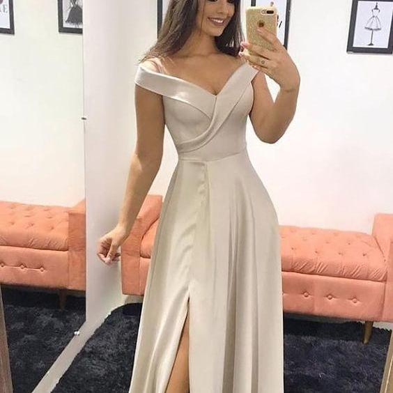 off shoulder evening dress mermaid ball gowns Long Prom Dress Formal Dresses a-link Party Dress